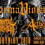 Karma Violens (Release live show) w/ Mortal Torment, Aetherian @ AN CLUB