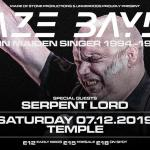 BLAZE BAYLEY, SERPENT LORD @ Temple