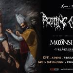 ROTTING CHRIST, MOONSPELL, SILVER DUST @ Piraeus 117 Academy