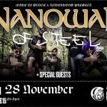 Nanowar of Steel live in Athens