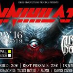 ANNIHILATOR, ARCHER NATION @ Principal Club Theater
