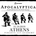 ΑΡΟCALYPTICA plays METALLICA with Four Cellos