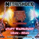 METALSHOCK RADIO SHOW 4/4/2018 PLAYLIST