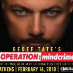 GEOFF TATE'S OPERATION MINDCRIME LIVE IN ATHENS