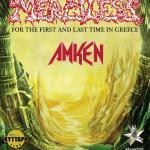 MERCILESS (Sweden)  +AMKEN (Greece)  Κυριακή 29 Οκτωβρίου 2017 - Κύτταρο Live