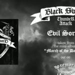 BLACK SWORD THUNDER ATTACK'S official release through NO REMORSE RECORDS