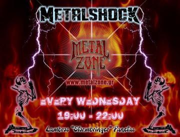 METALSHOCK RADIO SHOW 9/6/2021 PLAYLIST