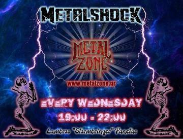 METALSHOCK RADIO SHOW 12/6/2019 PLAYLIST