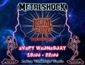 METALSHOCK RADIO SHOW 21/8/2019 PLAYLIST
