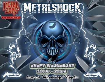 METALSHOCK RADIO SHOW 25/11/2020 PLAYLIST