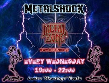 METALSHOCK RADIO SHOW 22/5/2019 PLAYLIST
