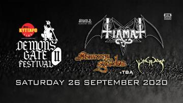 Demons Gate Festival II - Tiamat/Memory Garden/King Goat TBA