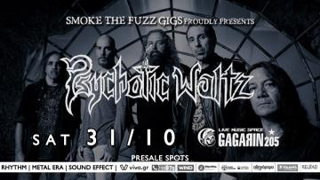 Psychotic Waltz live at Gagarin205