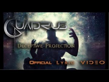 Quadrus - Deceptive Projection (OFFICIAL LYRIC VIDEO)