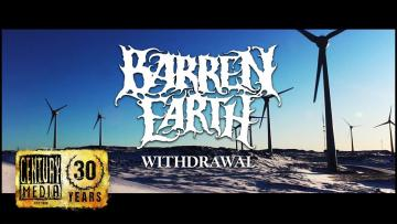 BARREN EARTH - Withdrawal (Lyric Video)