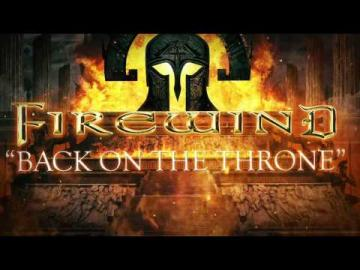 FIREWIND - Back On The Throne (Lyric Video)