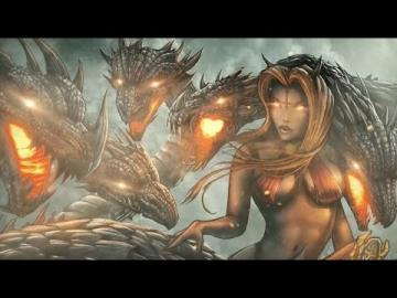 ICED EARTH - Seven Headed Whore (Lyric Video)