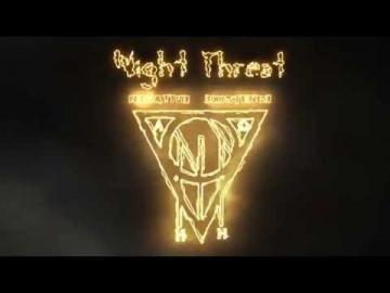 NIGHT THREAT - Negative Existence (OFFICIAL LYRIC VIDEO)