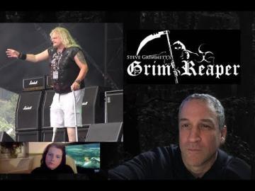 Steve Grimmett Grim Reaper Interview-talks leg loss, New Album, Chris Tsangarides