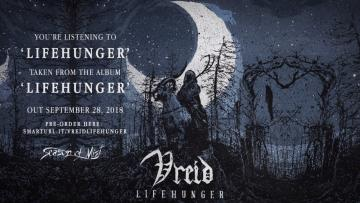 Vreid - Lifehunger (official premiere)