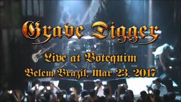 Grave Digger - Full Show (Live at Botequim, Belém/ Pará, Brazil, Mar 23, 2017) HD