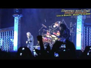 RONNIE JAMES DIO *1942 †2010 RIP! Heaven and Hell (Black Sabbath) [part 1] - Brasília - 5.13.2009