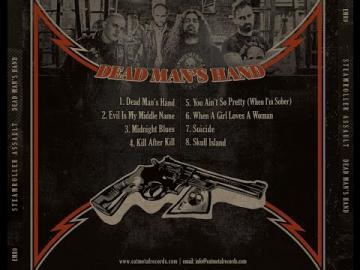 STEAMROLLER ASSAULT - Dead Man's Hand - NEW ALBUM PREVIEW