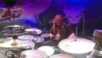 DESTRUCTION@Curse The Gods-Vaaver-live at Brutal Assault 2016 (Drum Cam)