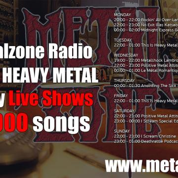 METALZONE WEBRADIO 12.100 ΕΥΧΑΡΙΣΤΟΥΜΕ!!!