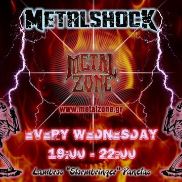 METALSHOCK RADIO SHOW 10/3/2021 PLAYLIST