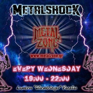 METALSHOCK RADIO SHOW 8/7/2020 PLAYLIST