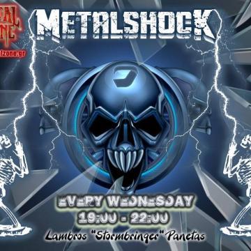 METALSHOCK RADIO SHOW 16/6/2021 PLAYLIST