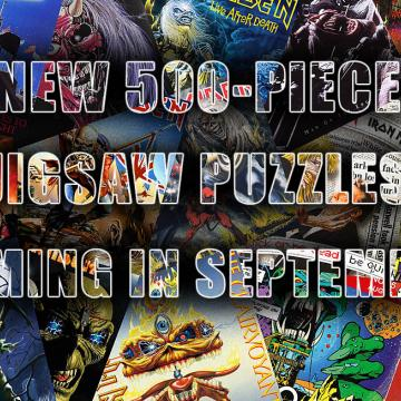 IRON MAIDEN - NEW 500-PIECE JIGSAW PUZZLES COMING IN SEPTEMBER