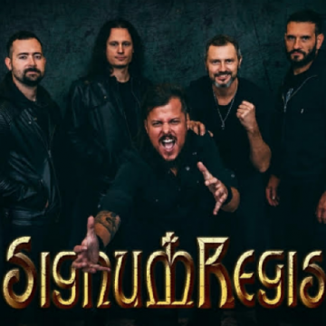"SIGNUM REGIS releasing ""Given Up For Lost"" official video"