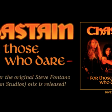 "CHASTAIN ""For Those Who Dare"" 30th Anniversary Edition CD coming August 14th"