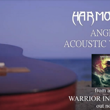 "HARMONIZE– single ""Angel (acoustic version)"" από το άλμπουμ ""Warrior in the night"""
