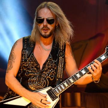 JUDAS PRIEST'S RICHIE FAULKNER SUFFERED AN 'AORTIC ANEURYSM' DURING LOUDER THAN LIFE PERFORMANCE