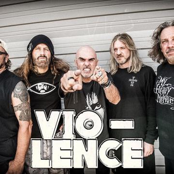 VIO-LENCE DEBUTS NEW SONG AT FRESNO CONCERT (VIDEO)