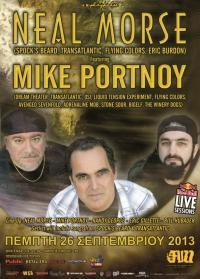 NEAL MORSE Featuring MIKE PORTNOY @ Fuzz Club