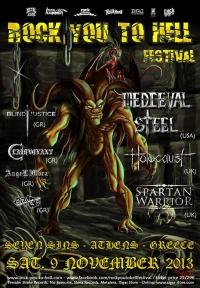 ROCK YOU TO HELL FESTIVAL @ 7 Sins
