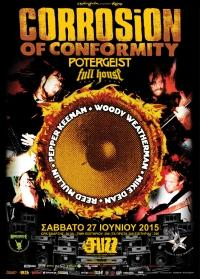 CORROSION OF CONFORMITY (U.S.A.) @ Fuzz Club