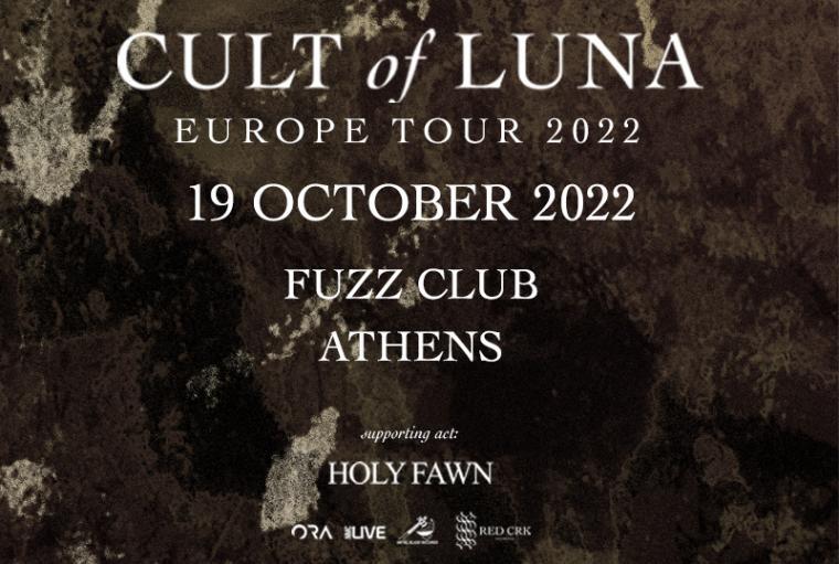 CULT OF LUNA LIVE IN ATHENS