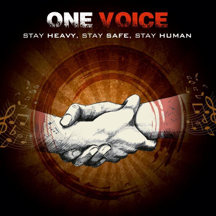 ONE VOICE: ΜΙΑ ΑΞΙΟΛΟΓΗ ΠΡΩΤΟΒΟΥΛΙΑ ΑΠΟ ΜΕΛΗ ΤΗΣ ΕΛΛΗΝΙΚΗΣ METAL ΣΚΗΝΗΣ