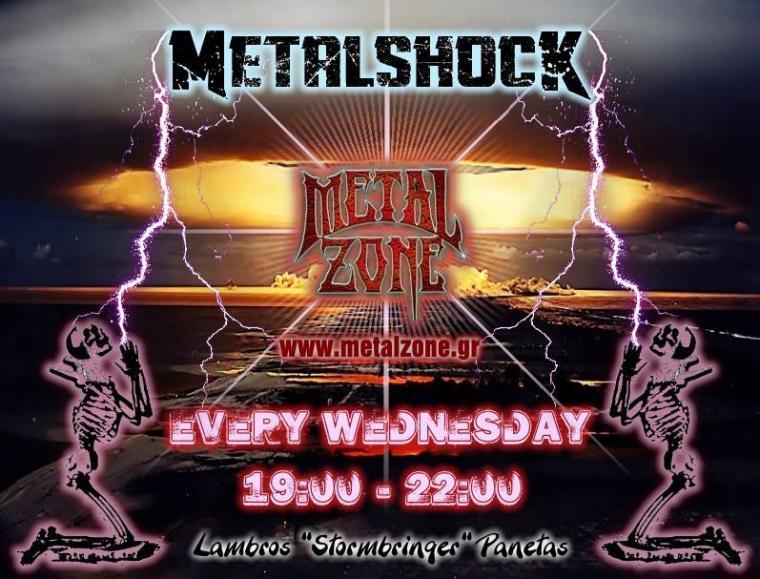 METALSHOCK RADIO SHOW 9/10/2019 PLAYLIST