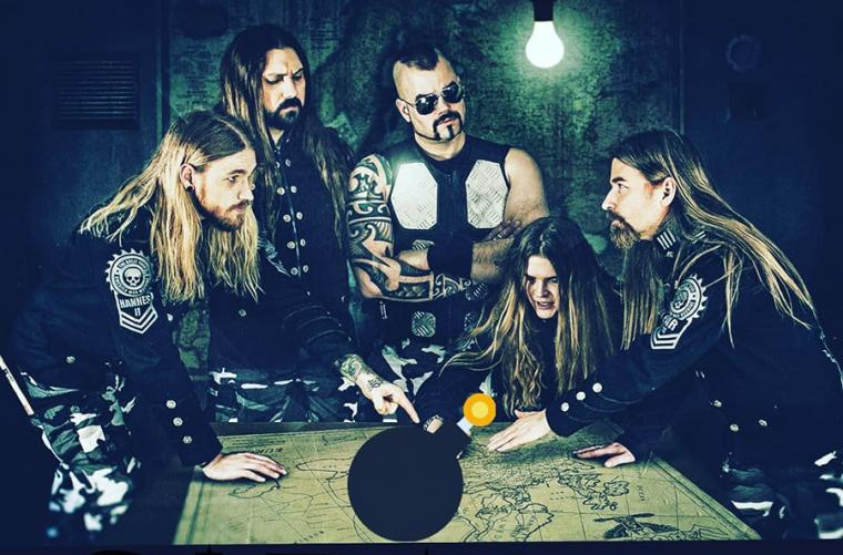 SABATON - REVEAL COVER VERSION OF MANOWAR'S SONG 'KINGDOM COME'