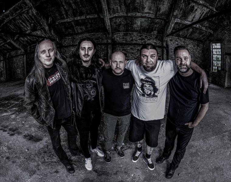 """BONDED """"INTO THE BLACKNESS OF A WARTIME NIGHT"""" LYRIC VIDEO STREAMING"""
