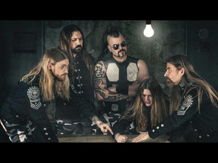 """SABATON RELEASE """"STEEL COMMANDERS"""" TO ALL STREAMING PLATFORMS; NEW LYRIC VIDEO STREAMING"""