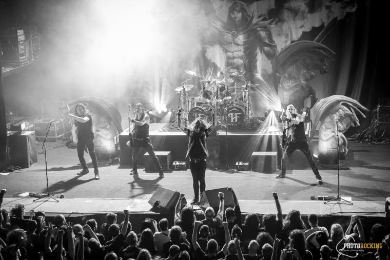 GLORY TO ....HAMMERFALL LIVE REPORT
