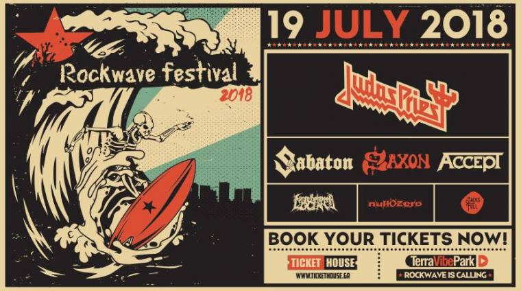 Rockwave festival Day I -Judas Priest, Sabaton, Saxon, Accept and more