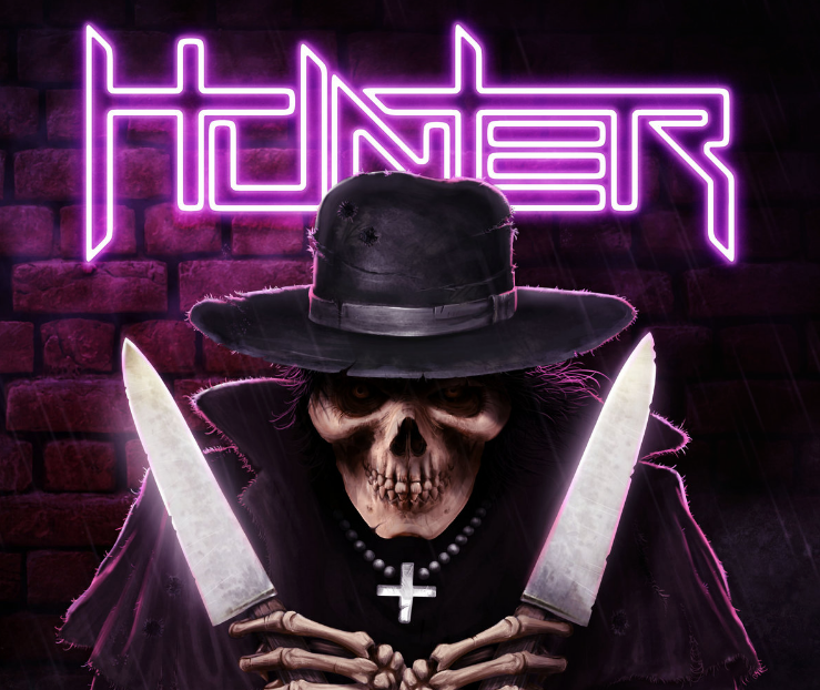 "Hunter from Belgium released Lockdown-video from the song ""Glorious"""
